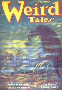Weird Tales November 1951 Everil Worrell